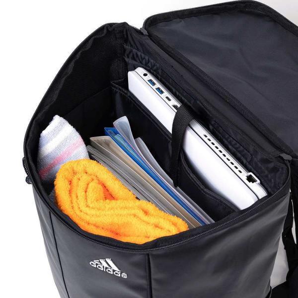 adidas アディダス ボックス型 リュックサック 25L 62781 リュック リックサック スクールリュック 大容量 メンズ レディース 中学生 高校生 女子高生|kaban-aiwa|09