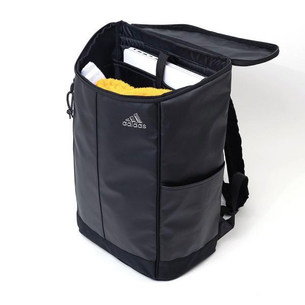 adidas アディダス ボックス型 リュックサック 25L 62781 リュック リックサック スクールリュック 大容量 メンズ レディース 中学生 高校生 女子高生|kaban-aiwa|10