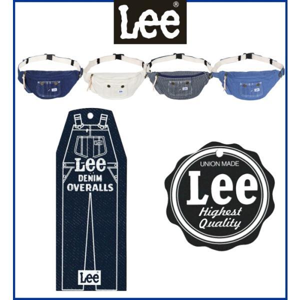 斜めがけバッグ メンズ ボディバック ボディバッグ おしゃれ ワンショルダー レディース Lee リー overall3 ウエストポーチ 320-500|kabanya|02