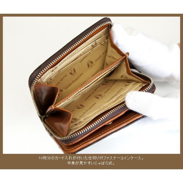 二つ折り財布/Hush Puppies ハッシュパピー マゴシリーズ ラウンドファスナー二つ折り財布/hp0346/メンズ ラウンド財布 父の日 プレゼント|kabanya|04