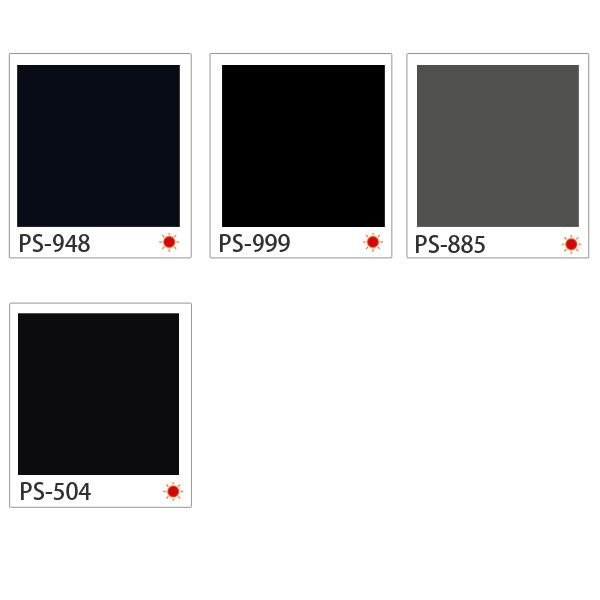 ダイノックシート 3M ダイノックフィルム カッティングシート シングルカラー 黒(ブラック)系|kabegami-doujou|03