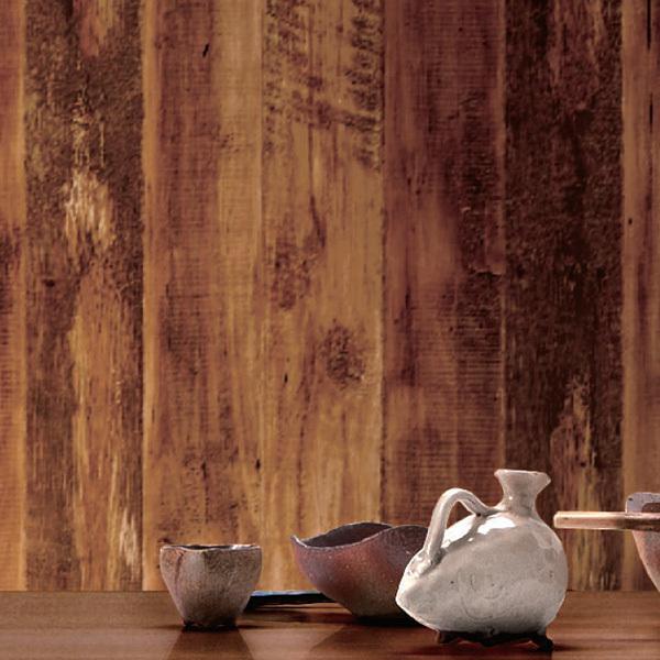 RoomClip商品情報 - 壁紙 のり付き のりつき クロス 国産壁紙 ウッド&ストーン オーク板目 ウッド 木目 ヴィンテージウッド ビンテージウッド 防かび ルノン RH-4740