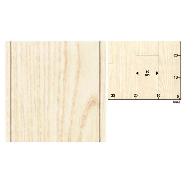 サンプル 住宅用 クッションフロア クッションシート 木目 ホワイト SCF-9419 メール便OK|kabegamiya-honpo|02