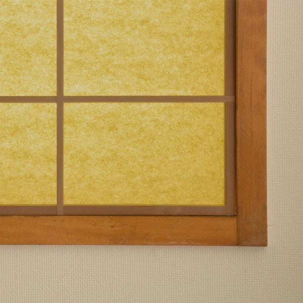 色を楽しむ 障子紙 カラー障子紙 カラー和紙 切れてる障子紙 やなぎ 美濃判サイズ 28cm×3m 貼りやすい 簡単 貼り替え 補修 和室 レトロ モダン 障子 きれい|kabegamiya-honpo|06