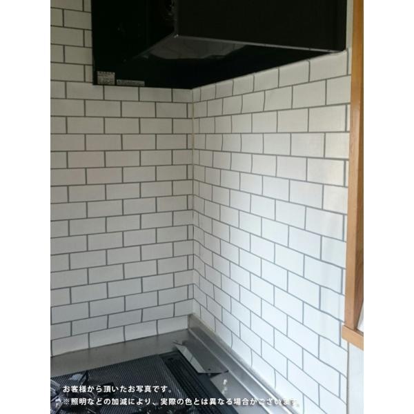 壁紙 サブウェイタイル風 クロス レンガ調 シンコール BB9453 国産壁紙(のりなしタイプ)(販売単位1m) BB-9453|kabegamiya-honpo|06