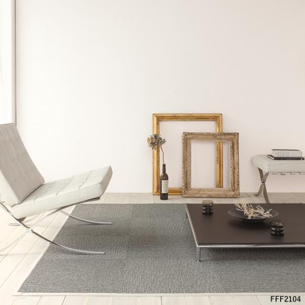 タイルカーペット おしゃれ 50×50cm 東リ 洗える 床暖房対応 ファブリックフロア スクエア2100 サイザループ|kabegamiya-honpo|05