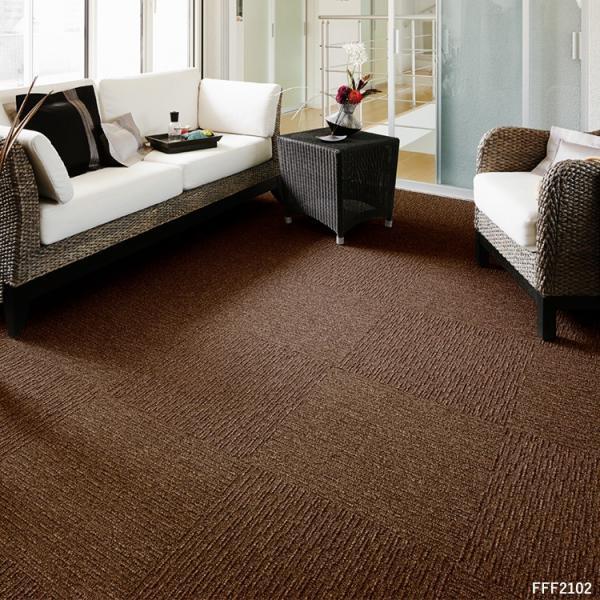 タイルカーペット おしゃれ 50×50cm 東リ 洗える 床暖房対応 ファブリックフロア スクエア2100 サイザループ|kabegamiya-honpo|07