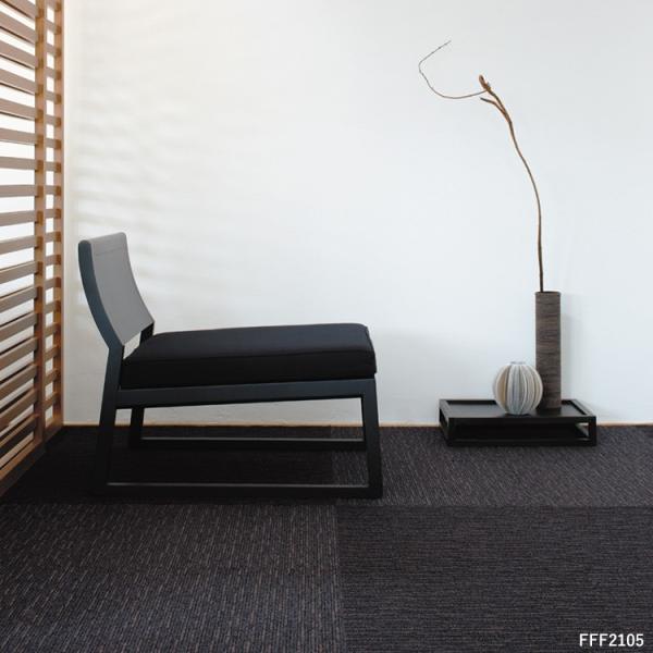 タイルカーペット おしゃれ 50×50cm 東リ 洗える 床暖房対応 ファブリックフロア スクエア2100 サイザループ|kabegamiya-honpo|09
