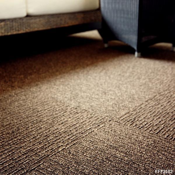 タイルカーペット おしゃれ 50×50cm 東リ 洗える 床暖房対応 ファブリックフロア スクエア2100 サイザループ|kabegamiya-honpo|10