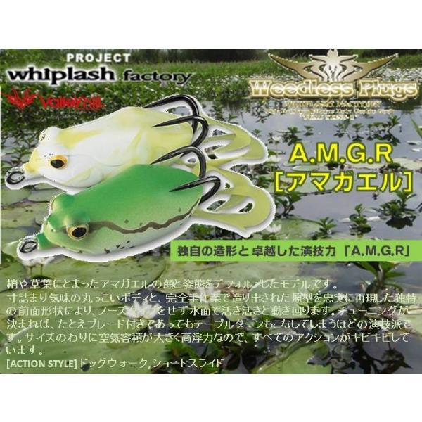 ※バレーヒル ウィップラッシュファクトリー フロッグ アマガエル A.M.G.R  F02 クリアオレンジ/ゴールド  4996578624723
