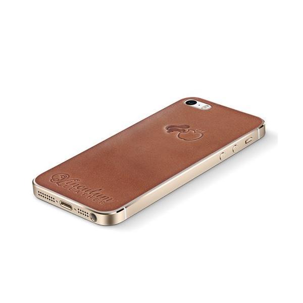 iPhone5s ケース スマホケース IGLNOCENT イノセント 本革 栃木レザー レザーシール スキンシート 背面保護フィルム 背面シール バックパネル バックプレート ハ|kacchaina|02