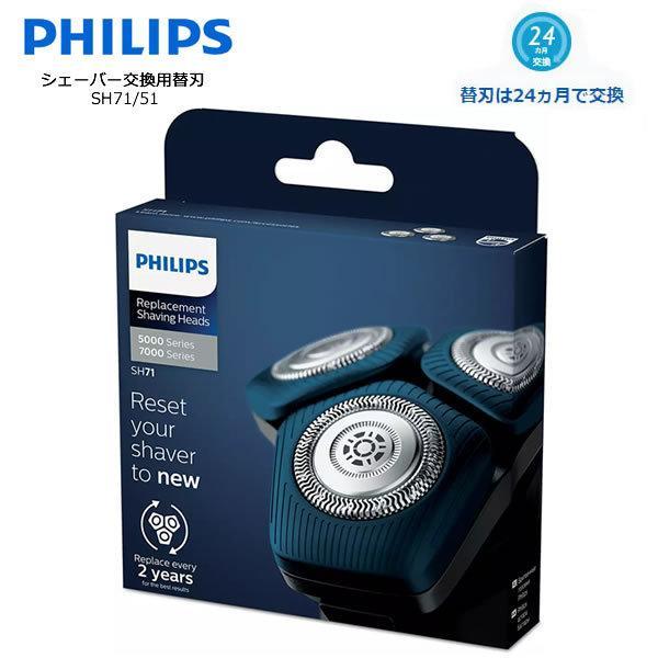 フィリップスシェービングヘッド替刃PHILIPSSH71/51フィリップスメンズシェーバー交換用替刃すべての7000シリーズ角型