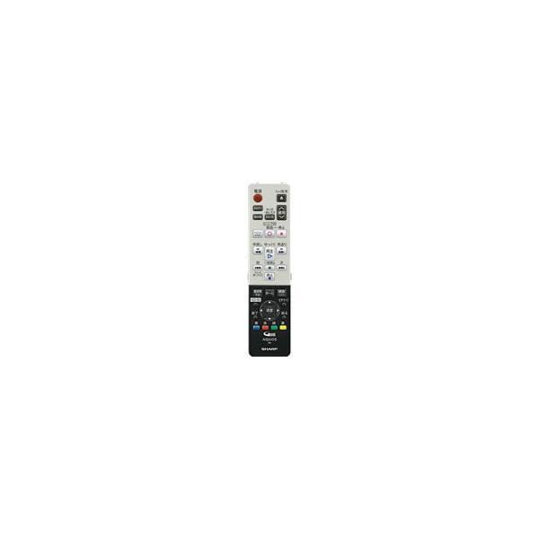 004-638-0256 シャープ ブルーレイディスクレコーダー用 リモコン