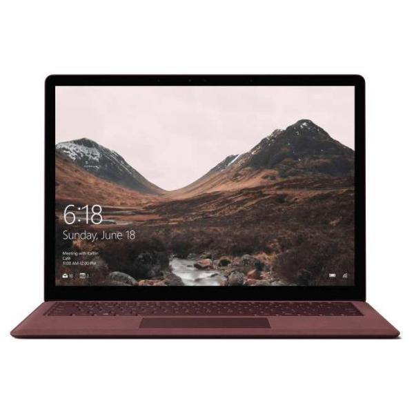 Microsoft DAG-00078 ノートパソコン Surface Laptop(サーフェス ラップトップ) バーガンディ [13.5型 /intel Core i5 /SSD:256GB /メモリ:8GB /2017年8月モデル]の画像