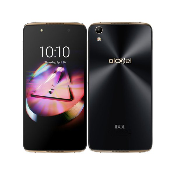 Alcatel IDOL4 16GB ゴールド SIMフリーの画像