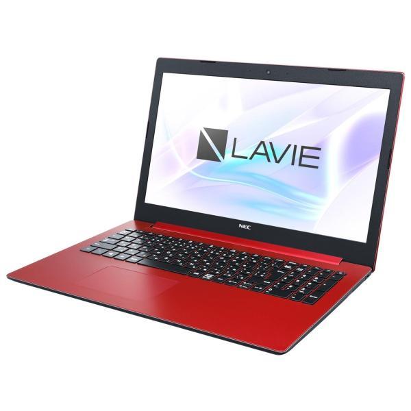 NEC PC-NS300MAR ノートパソコン LAVIE Note Standard(NS300/MAシリーズ) カームレッド [15.6型 /intel Core i3 /HDD:1TB /Optane:16GB /メモリ:4GB /2019年春モデル]の画像