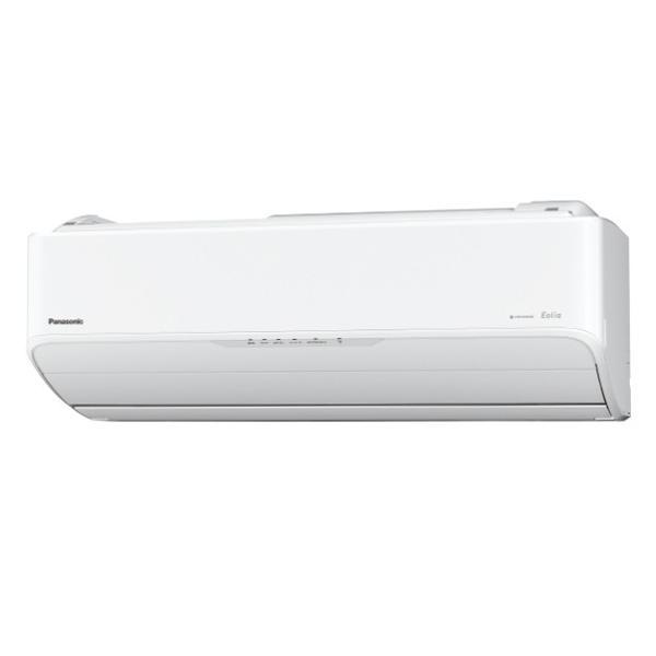 パナソニック CS-AX289C-W エアコン Eolia(エオリア) AXシリーズ (10畳用)|kadenbank