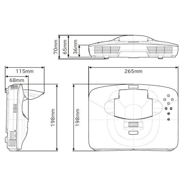 日立 スマートプロジェクター SP-1J|kadentown|09