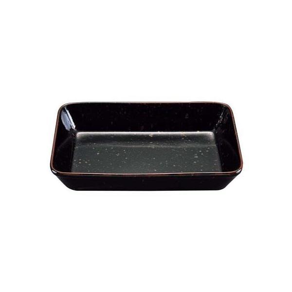 EBM-1563950 黒天目 ラザニアディッシュ (EBM1563950)