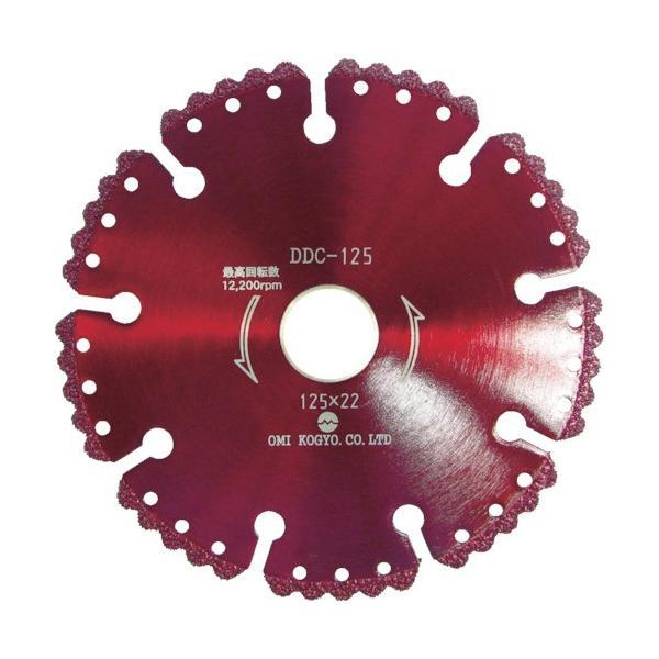 トラスコ中山 tr-7565704 大見 コンクリート用溶着ダイヤカットソー 125mm (tr7565704)