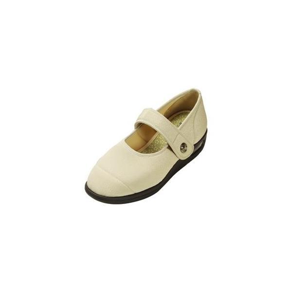 ds-1431901 マリアンヌ製靴 彩彩〜ちりめん〜 W1101 婦人用 /22.5cm ベージュ (ds1431901)