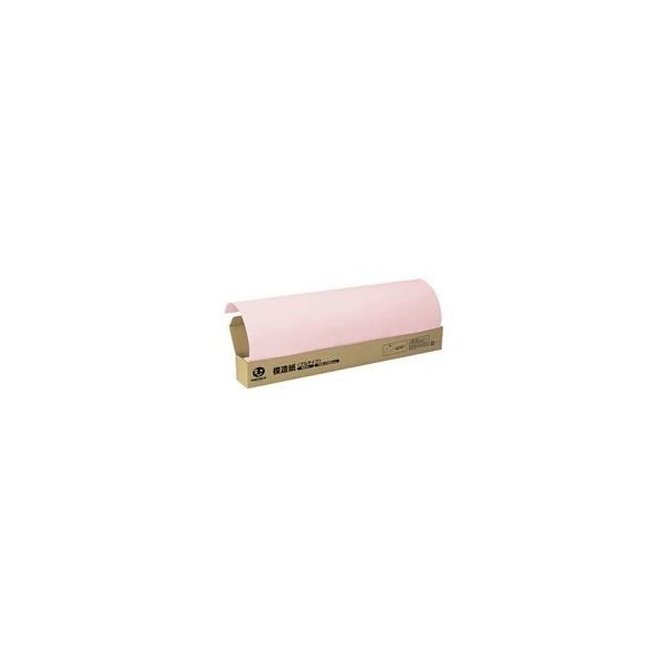 ds-1472149 (まとめ)ジョインテックス 方眼模造紙プルタイプ50枚ピンク P152J-P【×2セット】 (ds1472149)