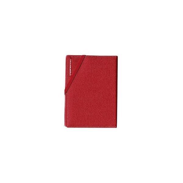 ds-1854221 コンサイス スキミングブロック パスポートカバー皮革調R レッド CO-293156 【3個セット】 (ds1854221)