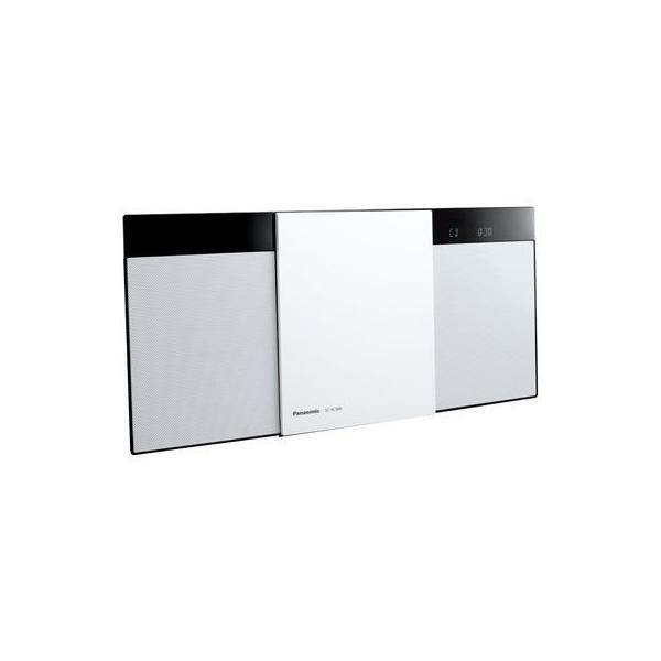パナソニック SC-HC300-W コンパクトステレオシステム(ホワイト) (SCHC300W)