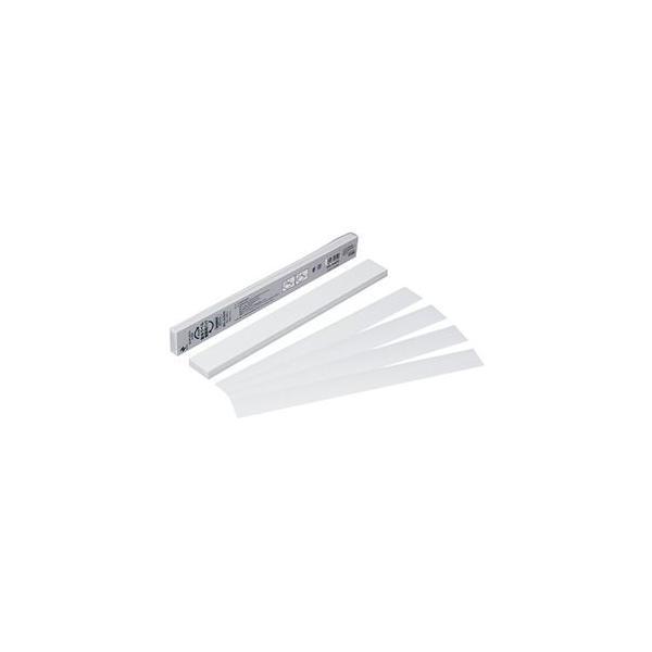 ds-2115393 (まとめ) ニチバン製本ラベル[再生紙]業務用 契約書割印用 35×297mm ホワイト BKL-A450351パック(50枚) 【×5セット】 (ds2115393)
