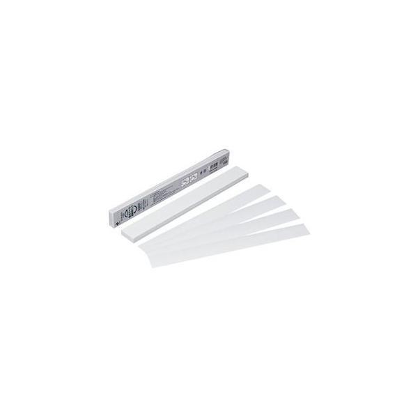 ds-2227292 (まとめ) ニチバン製本ラベル[再生紙]業務用 契約書割印用 35×297mm ホワイト BKL-A450351パック(50枚)  【×10セット】 (ds2227292)