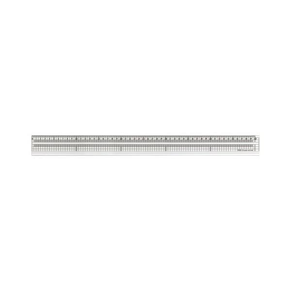 4963346114915 共栄プラスチック グランデ方眼みぞ付カッティング直線定規 GCT-50 (1本)