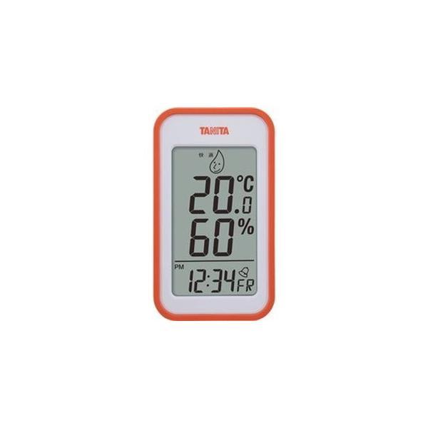 ds-2310212 (まとめ)タニタ デジタル温湿度計 オレンジTT559OR 1個【×5セット】 (ds2310212)