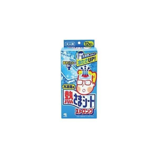 ds-2305709 (まとめ)小林製薬 冷凍庫用 熱さまシートストロング 大人用 1箱(12枚)【×20セット】 (ds2305709)