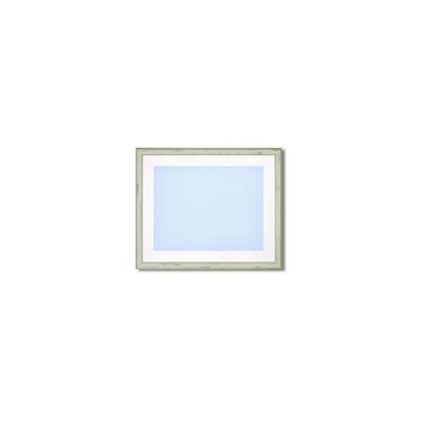 ds-2342642 【最高級水彩額】色あせを防ぐUVカットアクリル・マット付き イタリアン水彩額F8 ピスタチオグリーン (ds2342642)