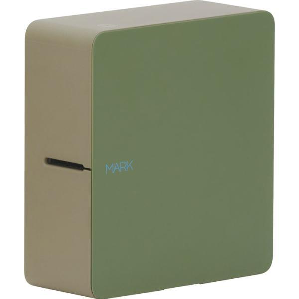 キングジム 4971660776436 ラベルプリンター テプラ スマホで簡単ラベル作成 SR-MK1(カーキ)
