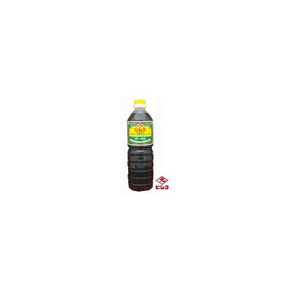 CMLF-0301bh ヒシク藤安醸造 うすくちしょうゆ すいせん 1L×6本 箱入り (CMLF0301bh)