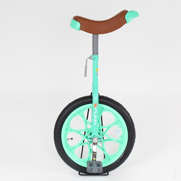 21Technology 4562320218733 一輪車 16インチ 子供用プレゼント スタンド付き (一輪車IR16-グリーン)