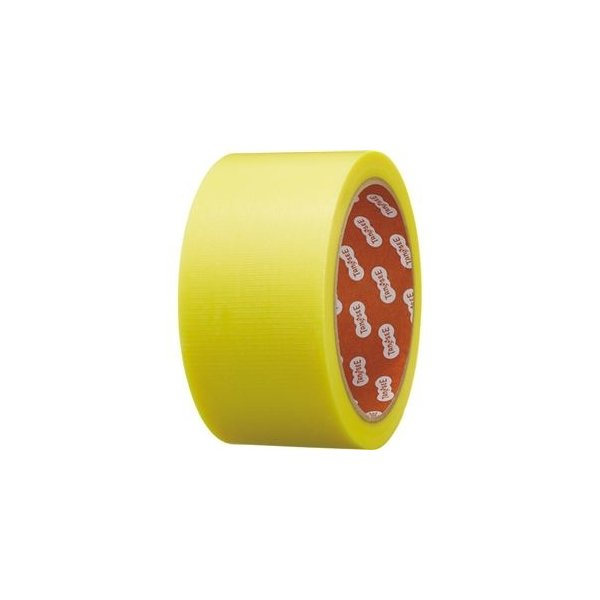 ds-2357518 TANOSEE カラー養生テープ 50mm×25m 黄 1セット(30巻) (ds2357518)