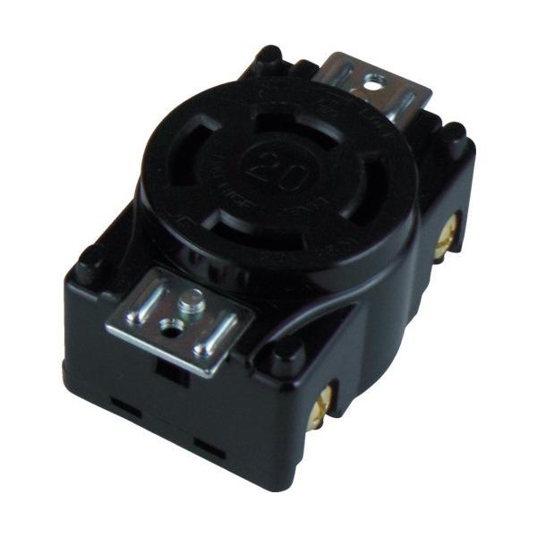 アメリカン電機 tr-4419979 引掛形 パネル用コンセント 接地3P20A250V (tr4419979)