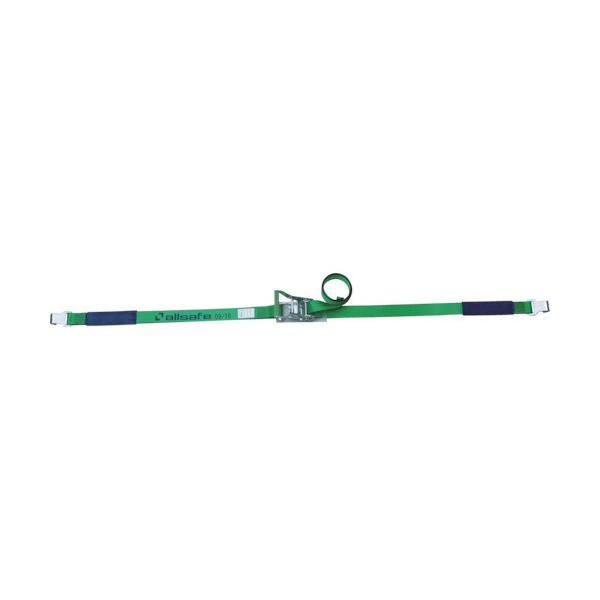トラスコ中山 tr-4795245 allsafe ベルト荷締機 ラチェット式フラットフック仕様(重荷重) (tr4795245)