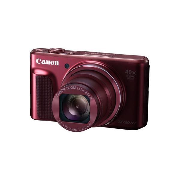 【納期目安:1週間】キヤノン PSSX720HS-RE コンパクトデジタルカメラPowerShot SX720 HS(レッド) (PSSX720HSRE)