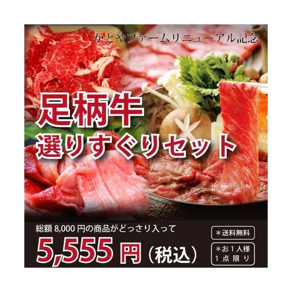 足柄牛選りすぐりセット 銘柄牛 国産 牛肉 すき焼き 牛すじ 切り落とし 期間限定商品|kadoyabokujou