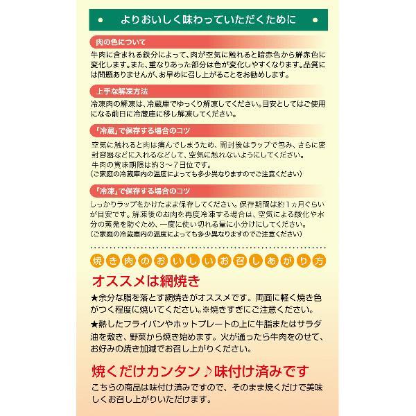 国産牛塩ねぎカルビ焼肉用500g|kadoyabokujou|06