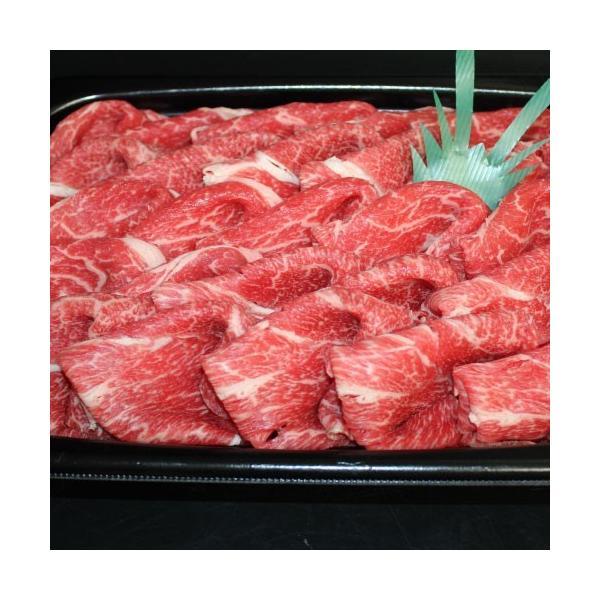 すき焼き用国産牛切り落とし1kg 鍋 肩ロース モモ ウデ|kadoyabokujou|02