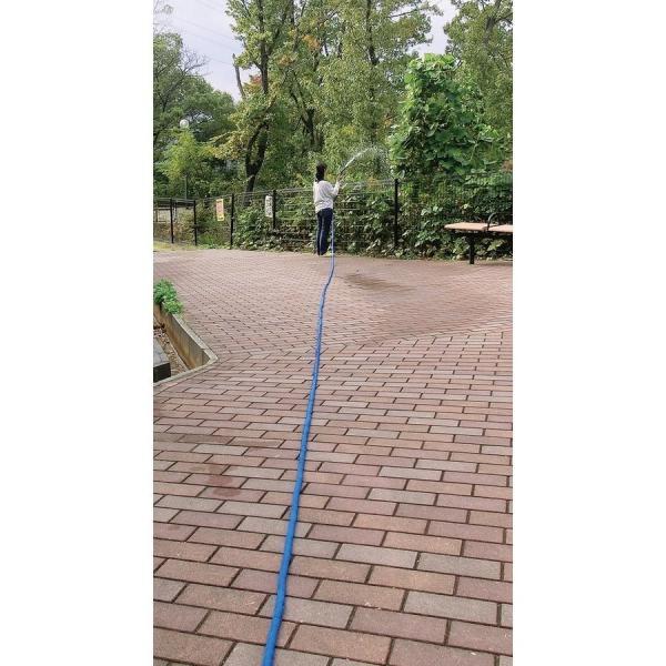 伸び〜る魔法のホース デラックス ブルー 6m  a15482    送料込み   ガーデニング 庭 ホース 水やり|kaede-shopmart|03