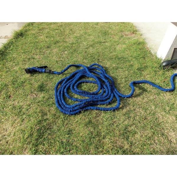伸び〜る魔法のホース デラックス ブルー 6m  a15482    送料込み   ガーデニング 庭 ホース 水やり|kaede-shopmart|05