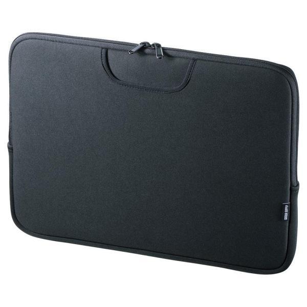 サンワサプライ ポケット付きインナーケース(15.6型ワイド) IN-WETP15BK