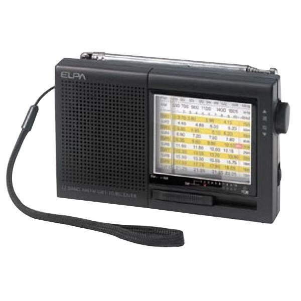 送料無料 ELPA(エルパ) AM/FM短波ラジオ ER-C74T
