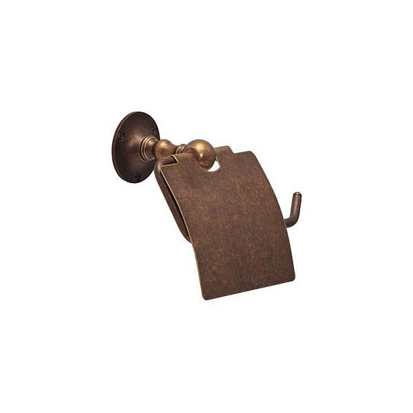 ペーパーホルダー トイレットペーパーホルダー(真鍮 アイアン トイレペーパーホルダー ロールペーパーホルダー)