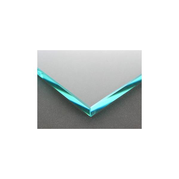 テーブルトップガラス テーブル天板 ガラス天板 天板ガラス(長方形 正方形)国産の硝子 板硝子(板厚10ミリ) 糸面取り加工(面取り幅1〜2ミリ):500x1100mm